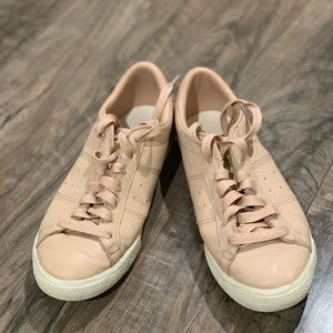 ONITSUKA pink sneakers Euro37.5, fits like 6.5/7